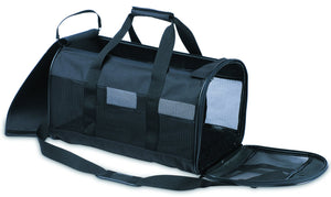 "Petmate soft side kennel cab black / 17""L x 10""W x 10 ""H - iPupnStuff.com"
