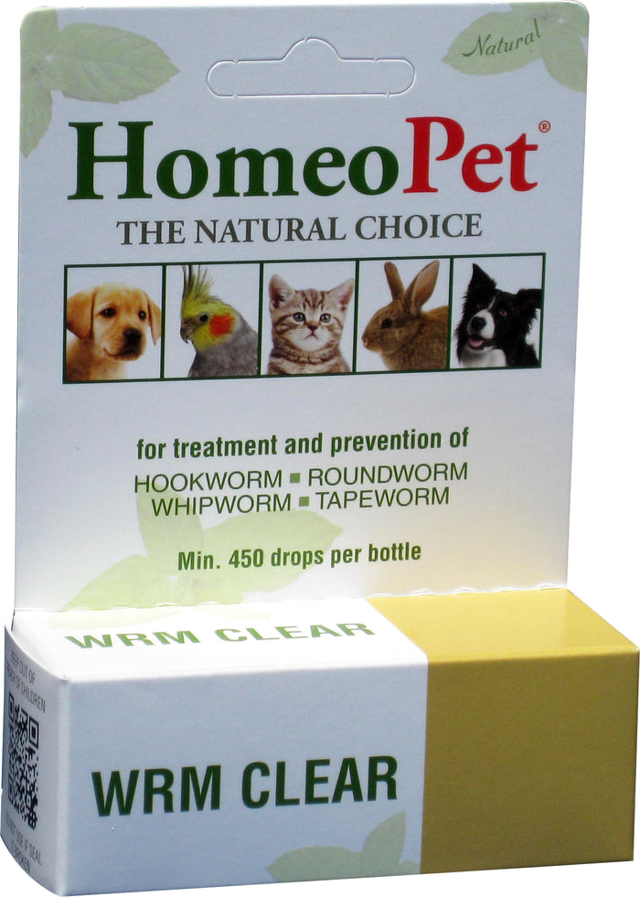 Homeopet Worm Clear For Dogs & Cats