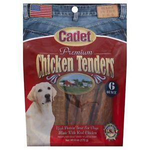 Cadet Premium Chicken Tenders High Protein Dog Treats 6 Oz - iPupnStuff.com