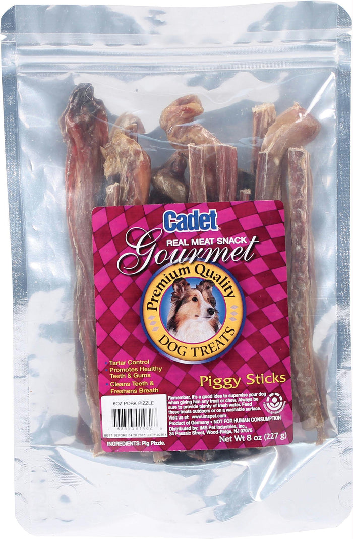 Cadet Butcher Treats Piggy Sticks 6 Oz.