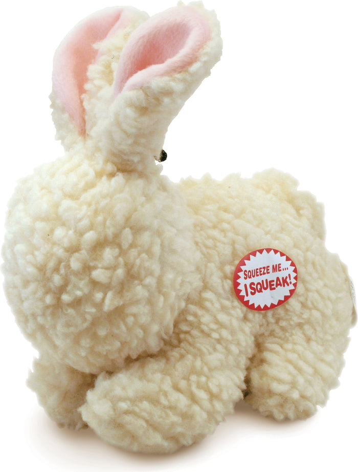 Fleece Rabbit Dog Toy