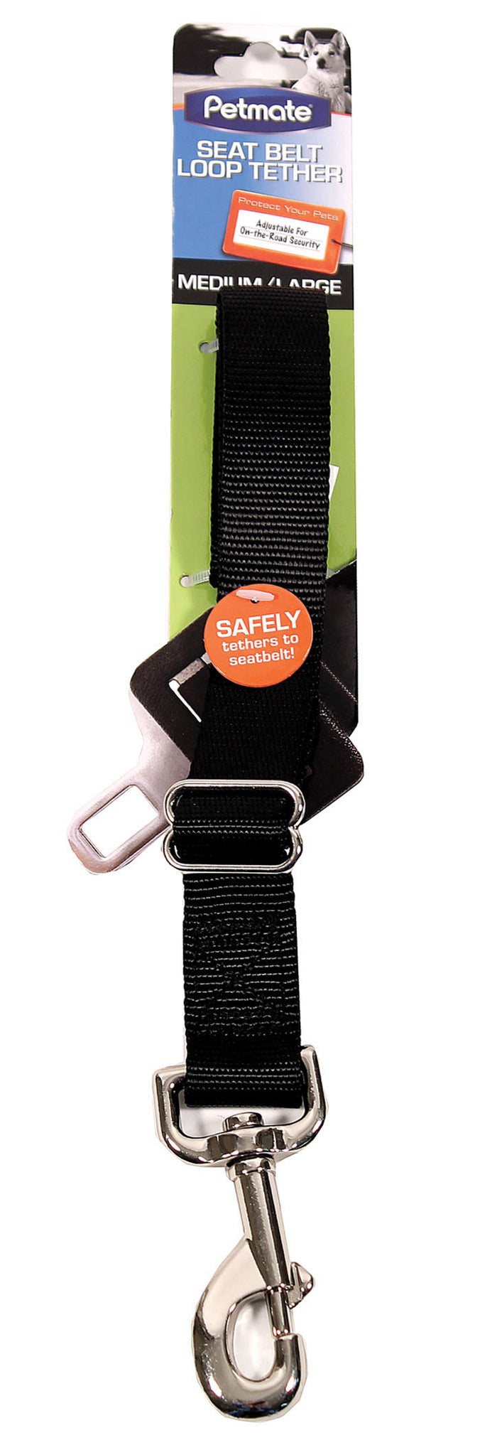 Seat Belt Loop Tether For Dogs