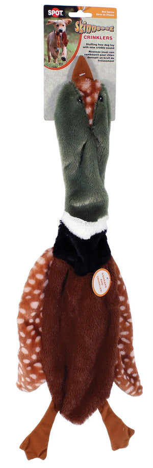 Mini Skinneeez Crinkler Bird Dog Toy
