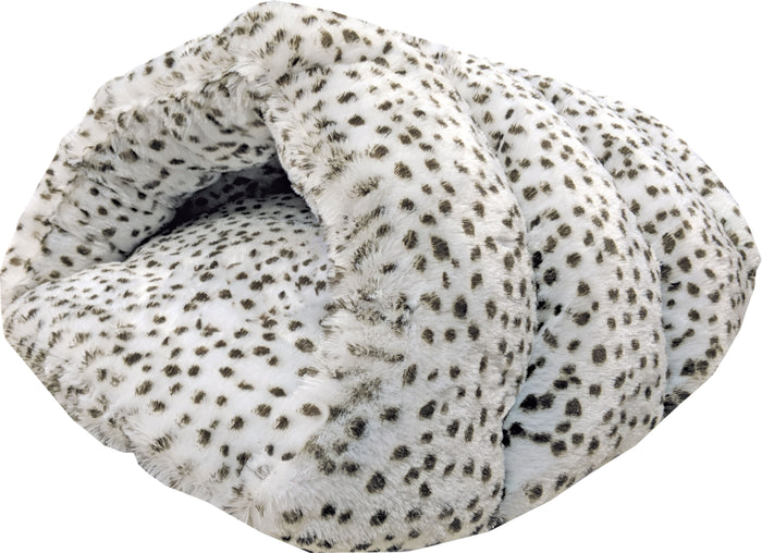 Sleep Zone Snow Leopard Cuddle Cave