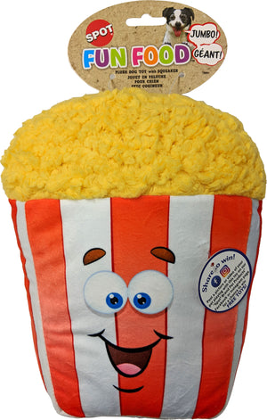 Fun Food Jumbo Popcorn Plush Toy