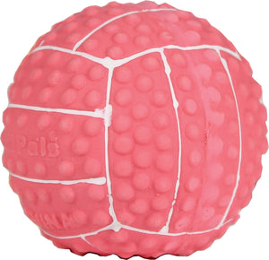 Li'l Pals Latex Volleyball Dog Toy - iPupnStuff.com