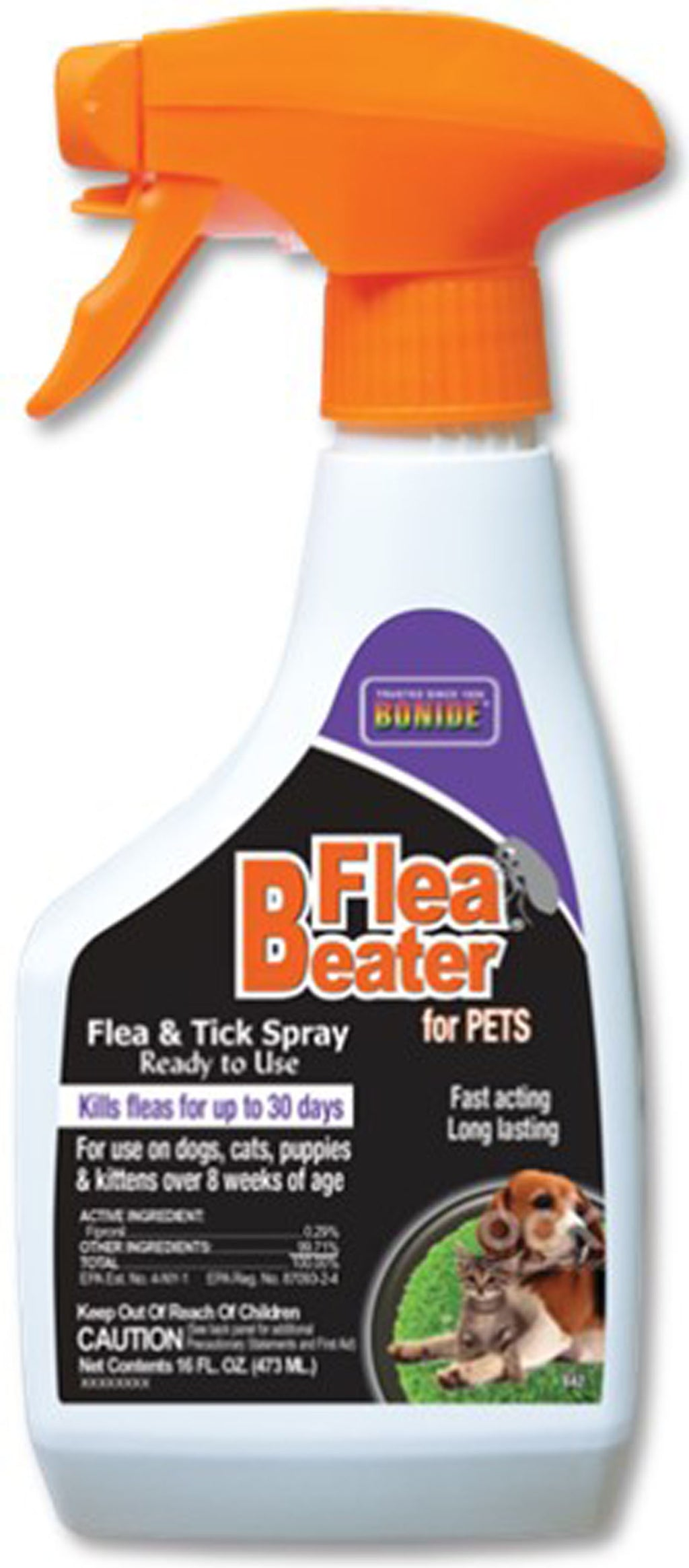 Flea Beater For Pets Flea Tick Spray Ready To Use
