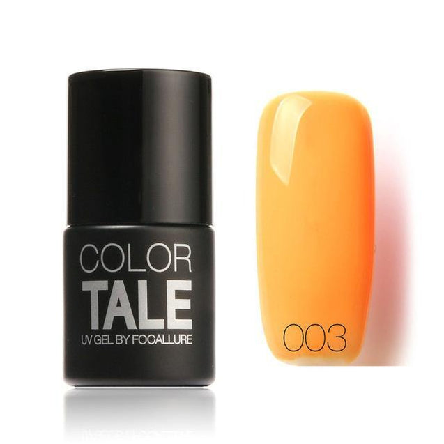 FOCALLURE Color Tale Gel Nail Polish Optional UV Gel Polish Nail Polish 12ML - TGCboutique