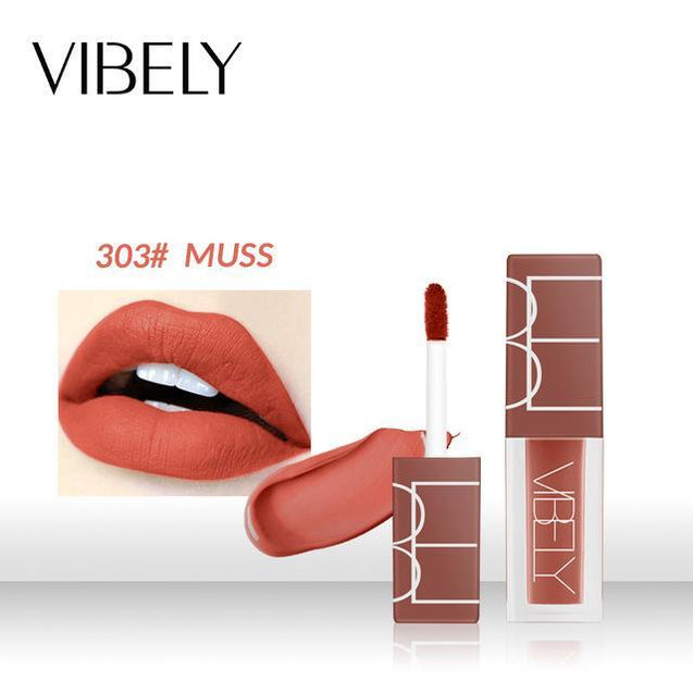 pudaier brand makeup long lasting lip color velvet red brown pigment in ink liquid cosmetic for lips nude - TGCboutique