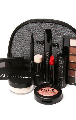 8 Pcs Cosmetic Set With Makeup Bag - TGCboutique