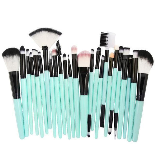 MAKEUP BRUSH SET - 25 PC - TGCboutique