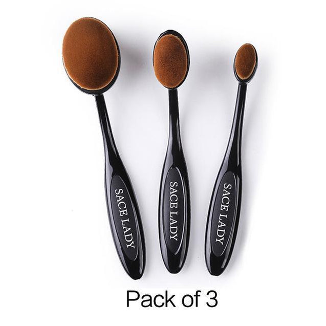 SACE LADY Makeup Brushes Set Foundation Toothbrush Highlighter Brush Kit Eyeshadow Eyeliner Powder Make Up Brand Tool Cosmetic - TGCboutique
