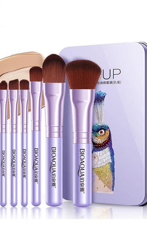 Professional Soft Fiber Makeup Brush Set - TGCboutique