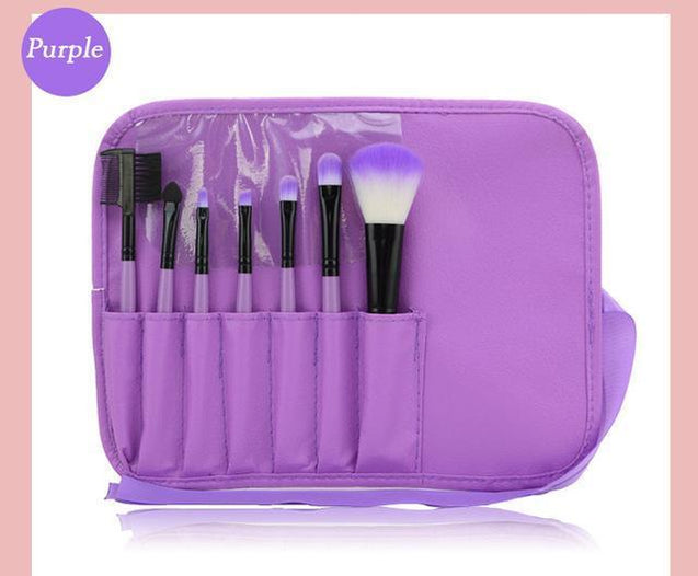 7 Pcs/kits Makeup Brushes Professional Cosmetic Set - TGCboutique
