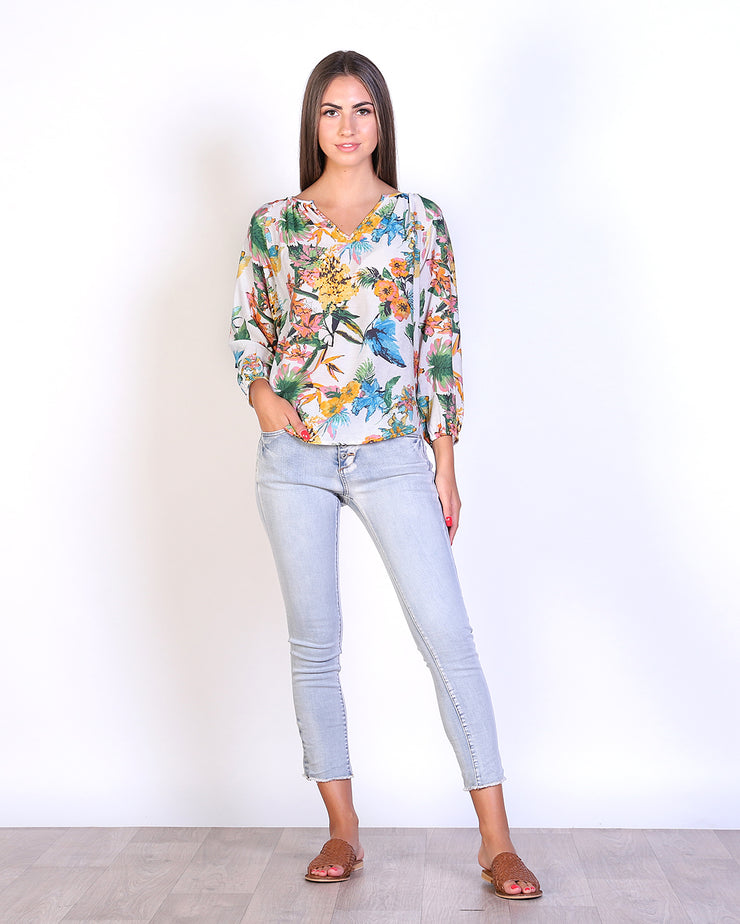 Floral Sorrento Top