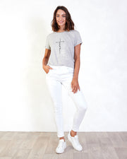 White Greenbay Jean