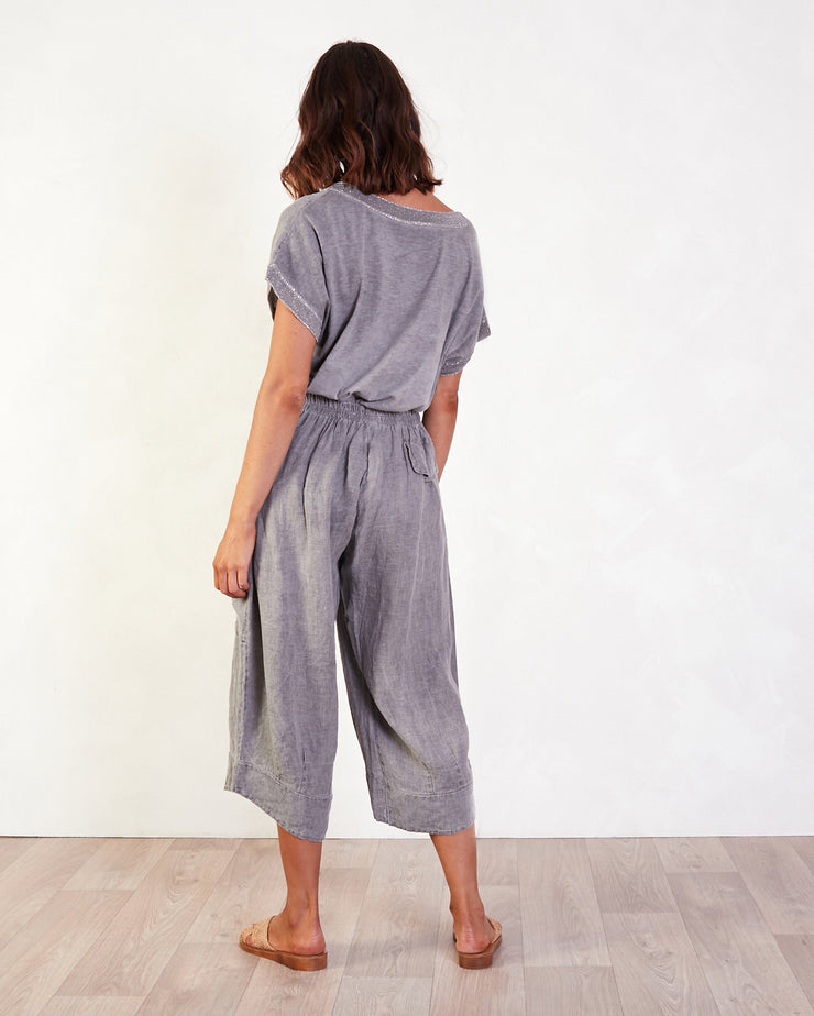 Nairobi Lurex Linen Top