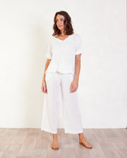 Trudie Linen Top