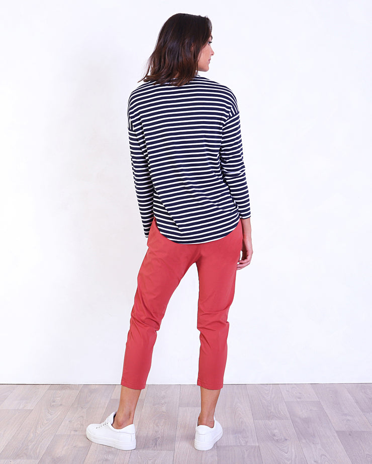 Stripey Loose Fit Tee