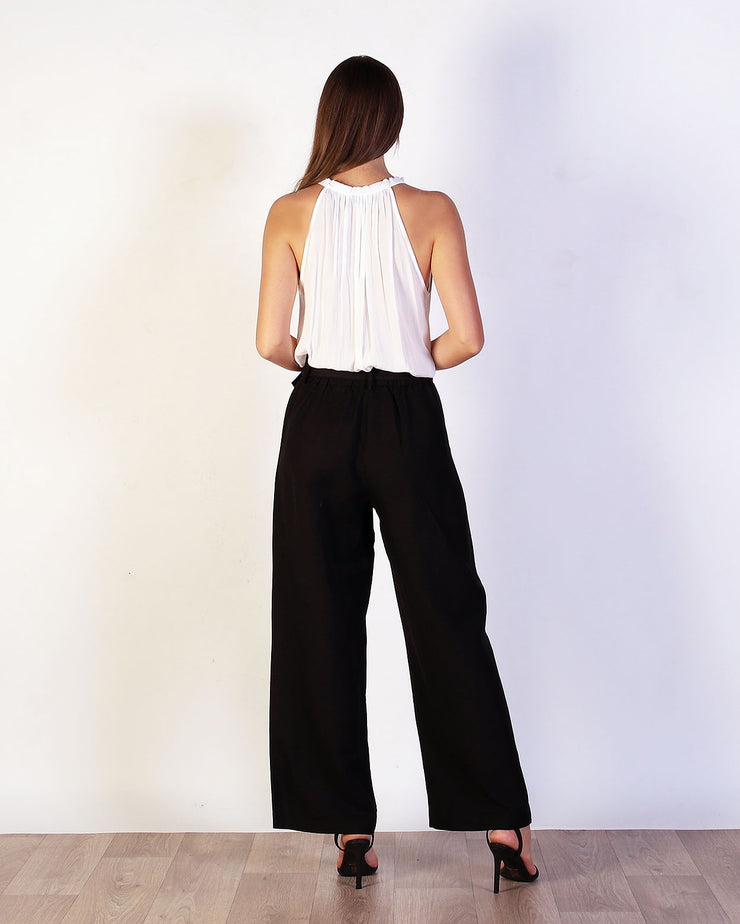 Belted Palazzo Pant