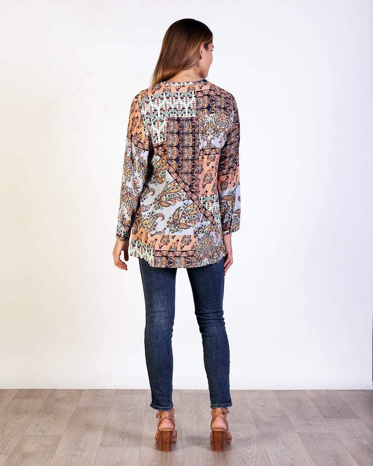 Paisley Tile Top
