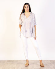 Cassia Cotton Top