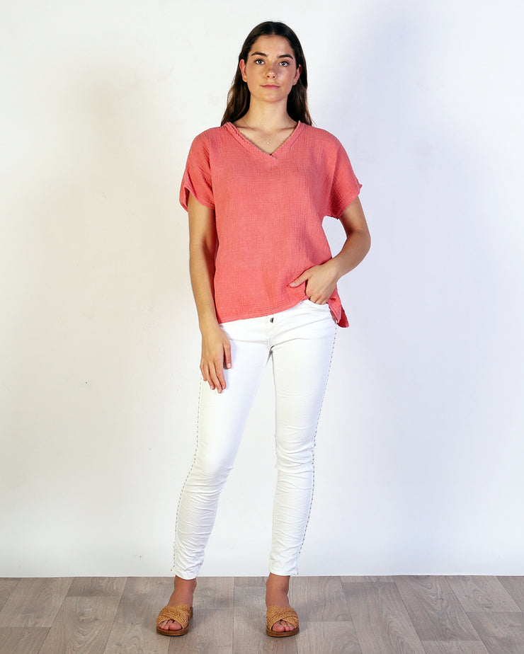 Cora Cotton Top