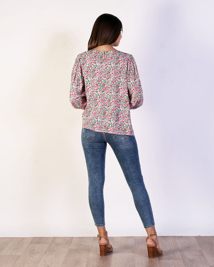 Floral Wilma Top