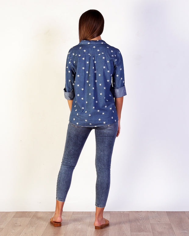 Starry Denim Shirt