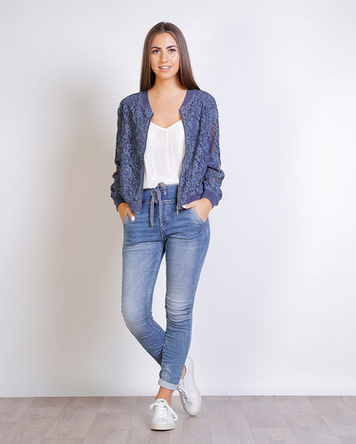 Florencia Lace Bomber