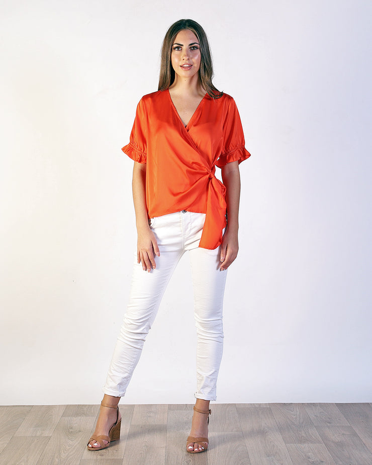 Ansley Wrap Top