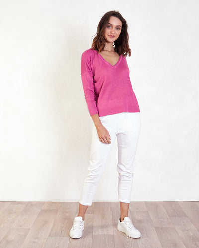 Mara V Neck Knit
