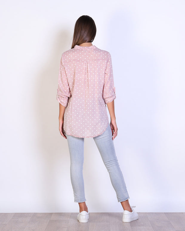 Spotty Cotton Shirt