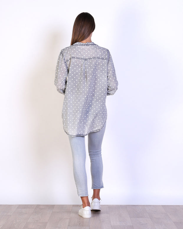 Spotty Cotton Top