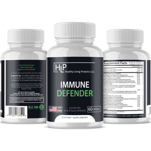 Immune Defender / Immune Defender Supports and Mantain your Immune System.  Gluten Free and Palo.