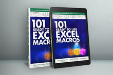 Load image into Gallery viewer, 101 Ready To Use Excel Macros E-Book
