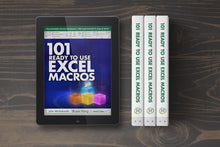 Load image into Gallery viewer, 101 Ready To Use Excel Macros E-Book ($10 OFF)