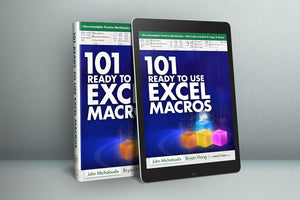 101 Ready To Use Excel Macros E-Book ($10 OFF)