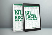 Load image into Gallery viewer, 101 Most Popular Excel Formulas E-Book ($10 OFF)