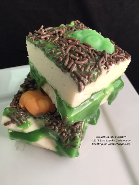 Zombie Drool Fudge