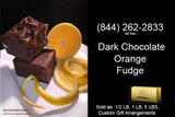 Dark Chocolate Orange Fudge