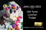 Old Tyme Licorice Fudge