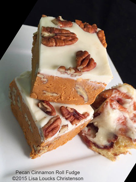 Pecan Cinnamon Roll Fudge™