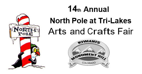 North Pole at Tri-Lakes Arts and Crafts Fair - December 7
