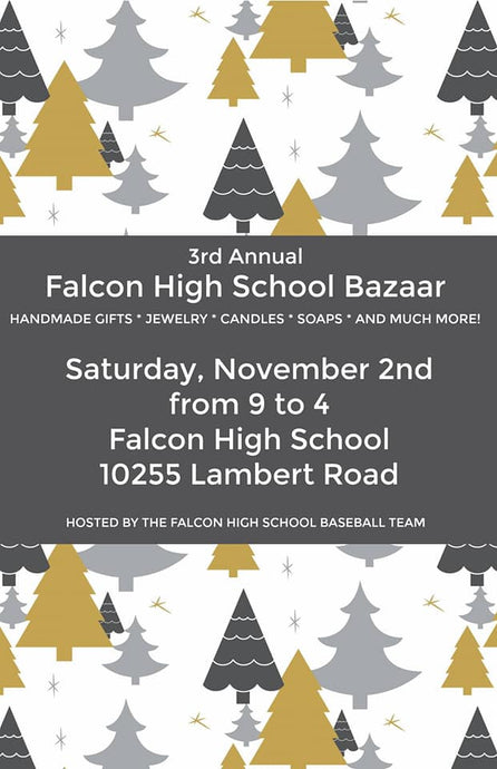 Falcon High School Bazaar - November 2