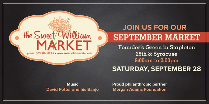 Sweet William Market - September 28