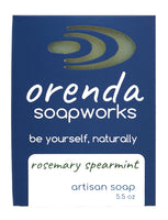 rosemary spearmint bar soap