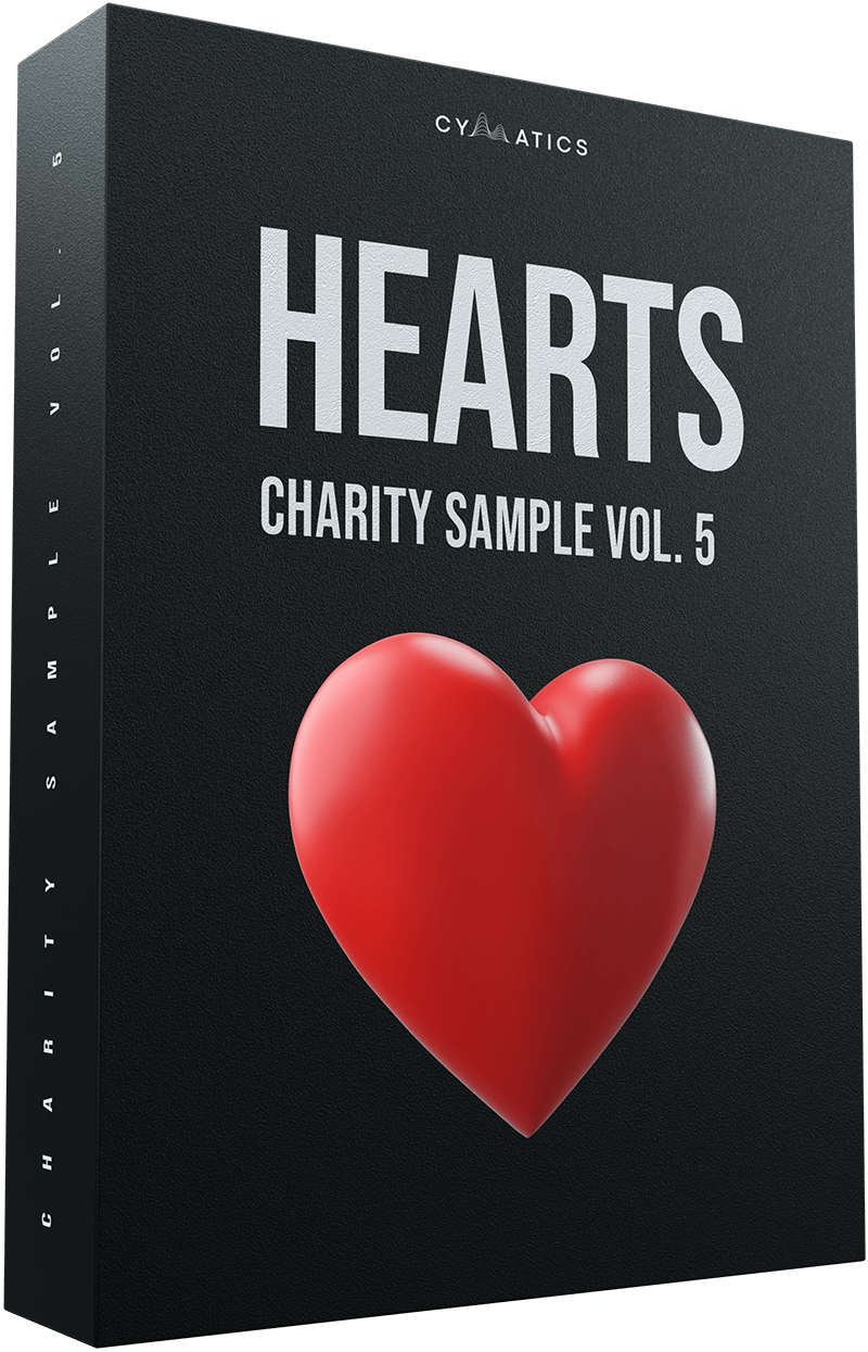 Hearts - Charity Sample Pack