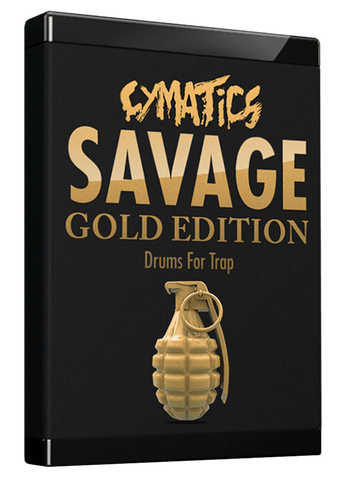 Savage Drums for Trap: Gold Edition