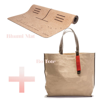 Gift Bundle - Bhumi Mat Geo + Tote Bag